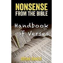 NONSENSE FROM THE BIBLE - HANDBOOK OF VERSES