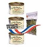 3 x french cassoulet with goose confit 420 gr-cassoulet au confit d'oie LA BELLE CHAURIENNE + 1 bag of provencal herbs Théodore Bardin-Cuinet