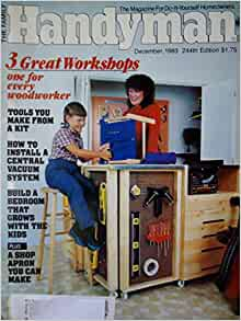 The Family Handyman December 1983 Tools From A Kit How