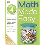 Math Made Easy: Fourth Grade Workbook (Math Made Easy)