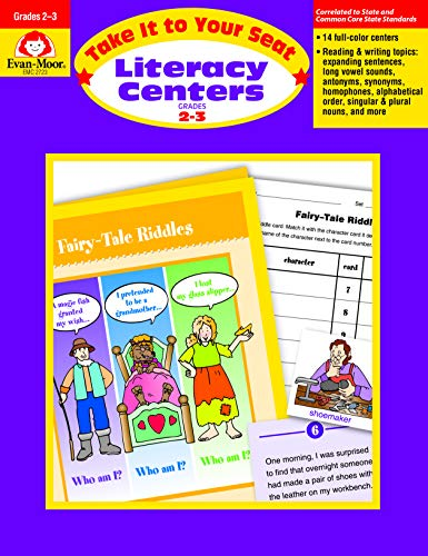 Take It to Your Seat Literacy Centers, Grades 2-3
