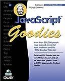 JavaScript Goodies, Joe Burns, 0789720248