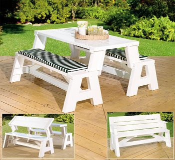 Convert-A-Bench (white) (assembled 31