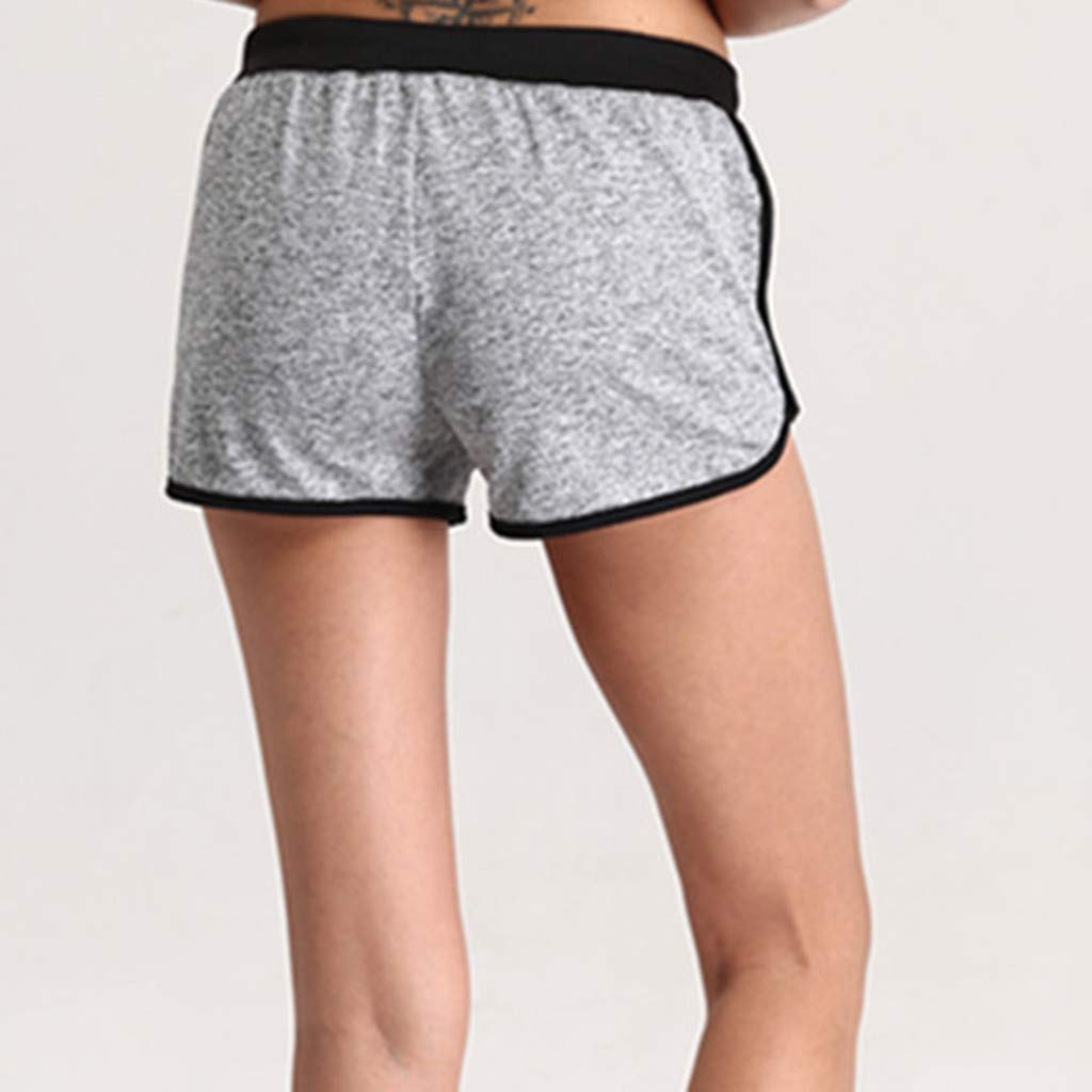Womens Shorts Overdose Womens Dolphin Running Workout Shorts Yoga Sport Fitness Short Pant