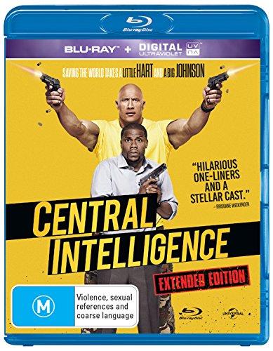 Central Intelligence   NON-USA Format   Region B Import - Australia