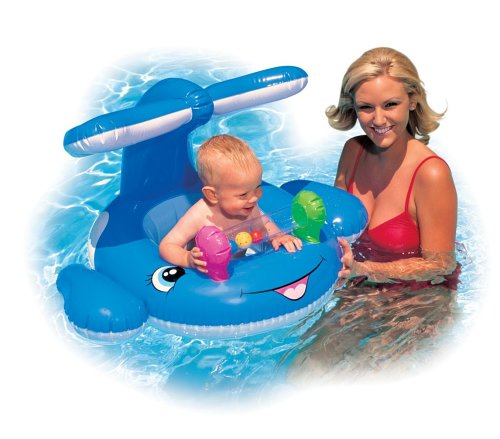 [Infant Little Whale Inner Tube Baby Float for Swimming Pools] (Swimming Pool Halloween Costume)