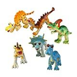 NUOLUX Cartoon Animal Dinosaur Figure Model Preschool Kids Toy 6pcs