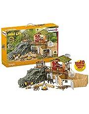 SCHLEICH SLH42350 Stacja Badawcza Dzikich Zwierząt