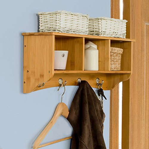 Foyer Cabinet Qatar : Sobuy wall shelves rack cabinets mounted