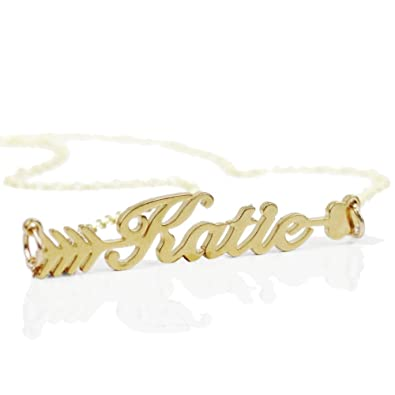 Buy ZSE Jewelry Customized Name Necklace Personalized