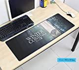 Game of Thrones Extended Gaming Mousepad 800x300x2mm (31.5x11.8x0.07 inchs) Non-Slip Rubber - Big Mouse Pad XL Size by LP Chiel (#3)