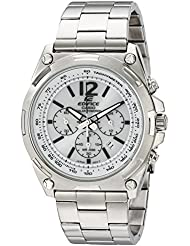 Casio Mens EFR-545BD-7BVCF Edifice Tough Solar Stainless Steel Watch