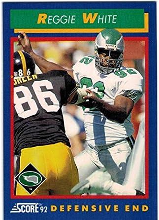 297e175c286 1992 Score Philadelphia Eagles Team Set with Keith Jackson & 2 Reggie White  - 18 Cards