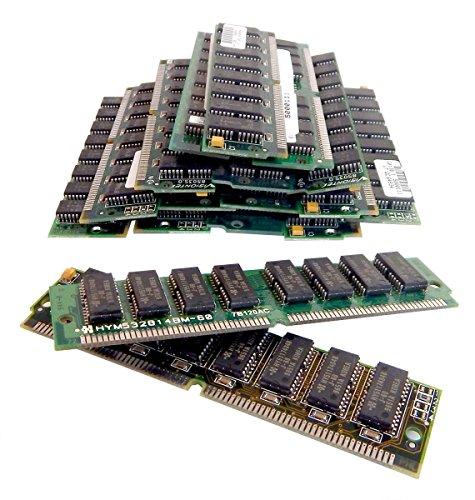 (HYUNDAI Lot-40 32MB 60ns EDO SIMM Memory HY5117404B-L40 4Mx4 J-60 72-Pin)