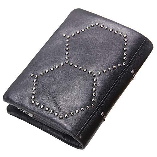 Black Bags Los Hombres De Embrague La Desmontable Del Cuero Monedero Bolso Cartera PqxgFwUUv