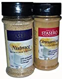 Stasero Nutmeg & Cinnamon Shakable Topping Duo