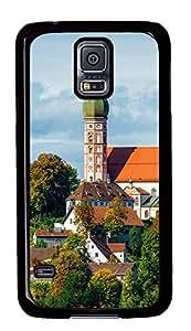 Samsung Galaxy S5 Munich City 01 PC Custom Samsung Galaxy S5 Case Cover Black