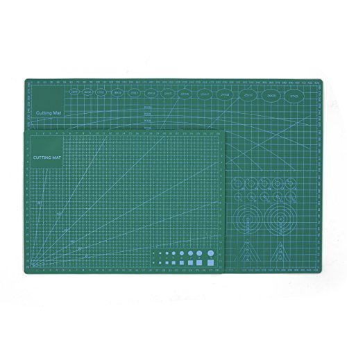 CLLIV self Healing Cutting mat Double Sided Cutting mat 9 x 12/A4 Great for Scrapbooking, Quilting, Sewing and All Arts & Crafts Projects ...