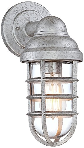 Nautical Outdoor Lighting Galvanized - 1
