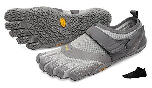 nus FiveFingers V Chaussures sports avec nautiques pour « gris nbsp;» pour nbsp;pieds Vibram chaussettes homme à Alqua les orteils 4CqxdYY