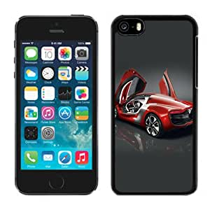 New Beautiful Custom Designed Cover Case For iPhone 5C With Renault Dezir Concept Car Phone Case