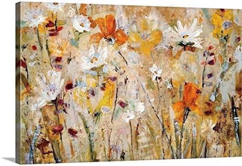 Jostle Canvas Wall Art Print
