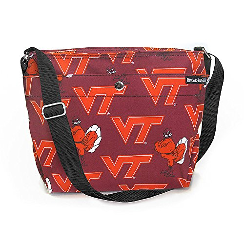 (Broad Bay Virginia Tech Purse Official VT Hokies Game Day Shoulder Bags for Women Her)
