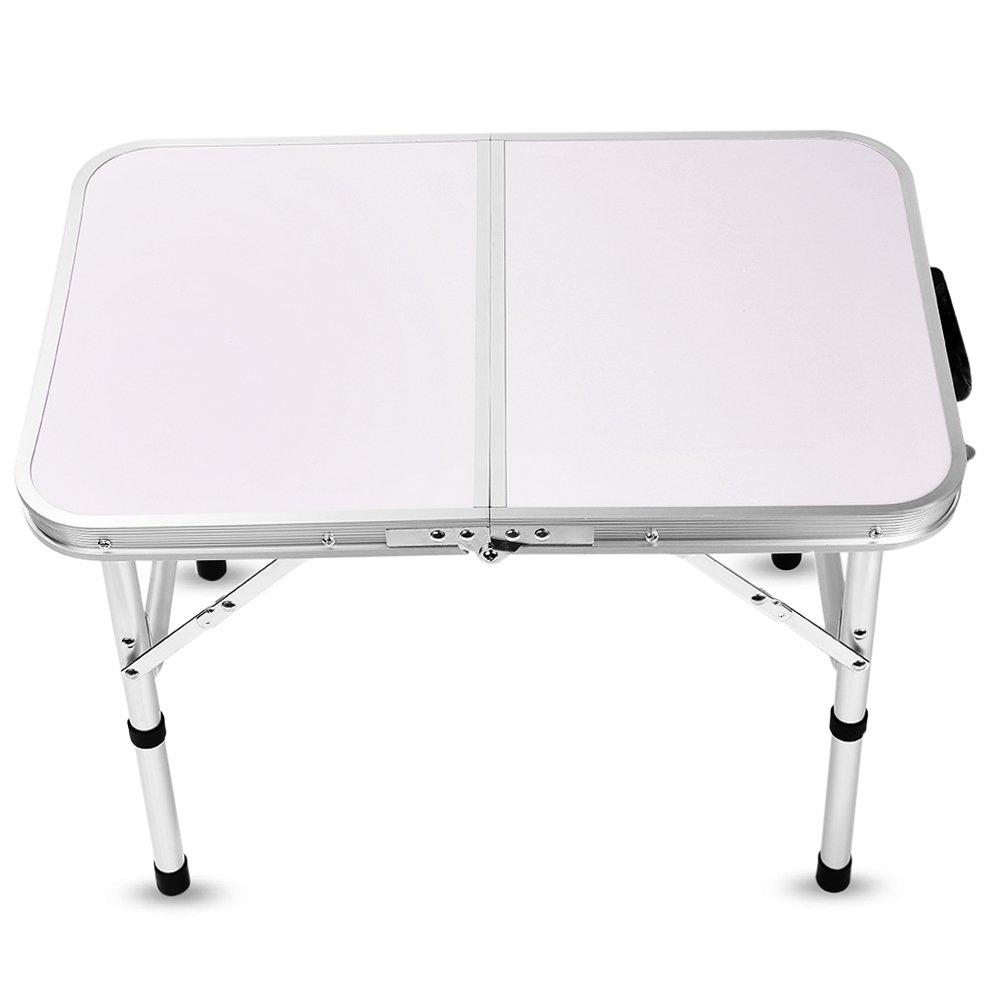 Aluminum Folding Camping Table Laptop Bed Desk Adjustable Height 60 x 40.5 x 24/41.5cm by DOVOK (Image #3)