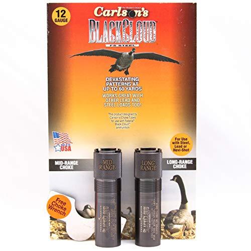 Carlsons 09102 Black Cloud Beretta/Benelli Mobil Long & Mid Range Choke Tubes, 12 Gauge
