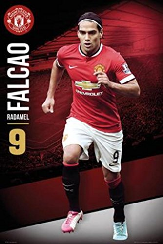 GB Eye Limited Manchester United Radamel Falcao Soccer Sports Poster 24x36 inch