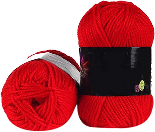 1 ovillo de algodón de bambú suave para tejer, 50 g, lana de punto ...