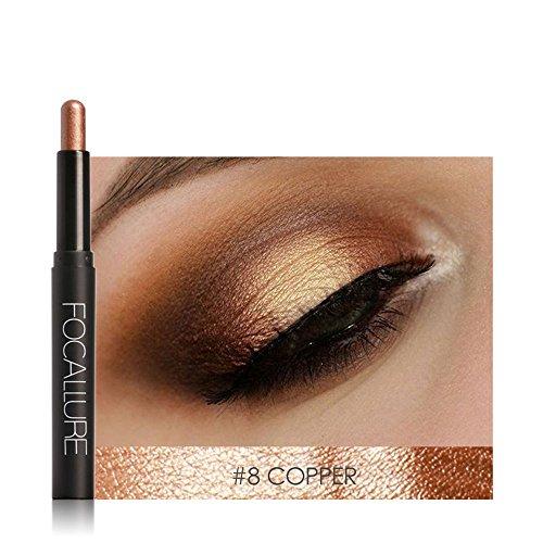 Eyeshadow , Hunzed Beauty Pro Highlighter Eyeshadow Pencil Cosmetic Smoky Eyeshadow Cosmetic Glitter Eye Shadow Pen Makeup New eyeshadow (H)