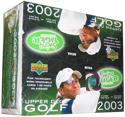 (2003 Upper Deck Golf 24 Pack Box)