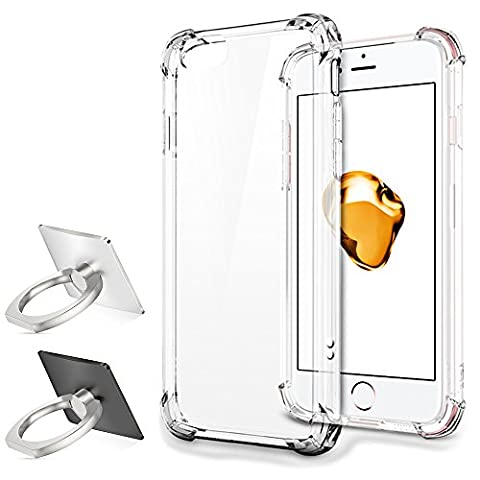 Protective Case for iPhone 7 Plus with 2 Phone Ring