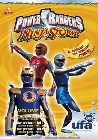 Power Rangers - Ninja Storm 08, Folgen 25-27 Alemania DVD ...