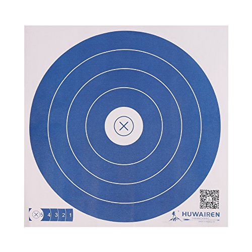 IRQ Archery Paper Targets for Backyard Shooting Practice Range, Targets for Shooting BB Guns Bows (50 pack)