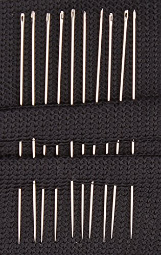 Colonial Needle HW250-11 10 Count Richard Hemming Milliners/Straw Needles, Size 11 - Milliners Hand Needles