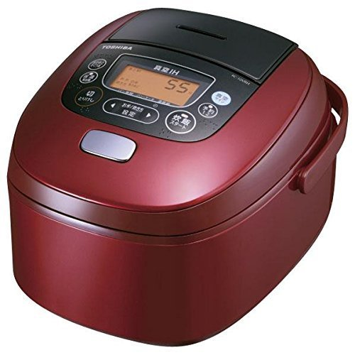 TOSHIBA vacuum IH rice cooker (5.5 Go cook) vacuum furnace cook Red RC-10VRH-R