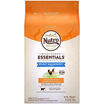 Rating For Nutro Weight Management Cat Food