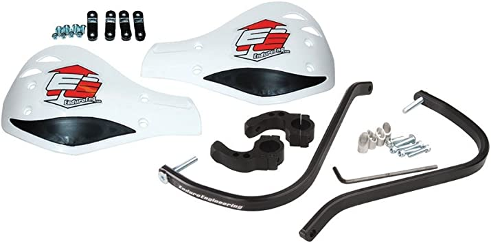 Enduro Engineering Evolution Aluminum Debris Deflectors Black 7//8 Bars