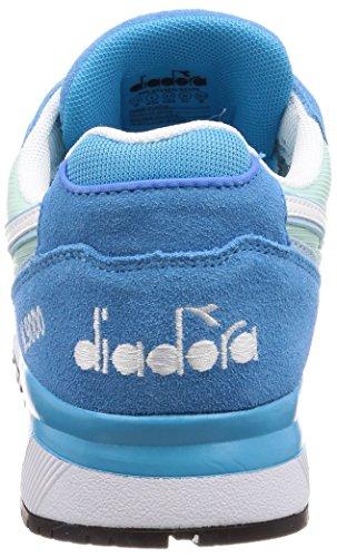 Diadora Herren N9000 Iii Gymnastikschuhe C7375 - Bleu Vif Lumière Rivière Bleu Étoile Bleue