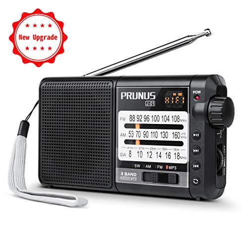 Battery Operated Portable Radio,...