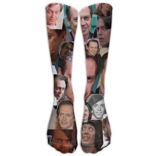 15.74in Unisex Steve Buscemi Collage Unique Design High Socks Leg Warmers Football Aseball For Men Women
