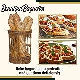 Nonstick Perforated Baguette Pan Bread Baking