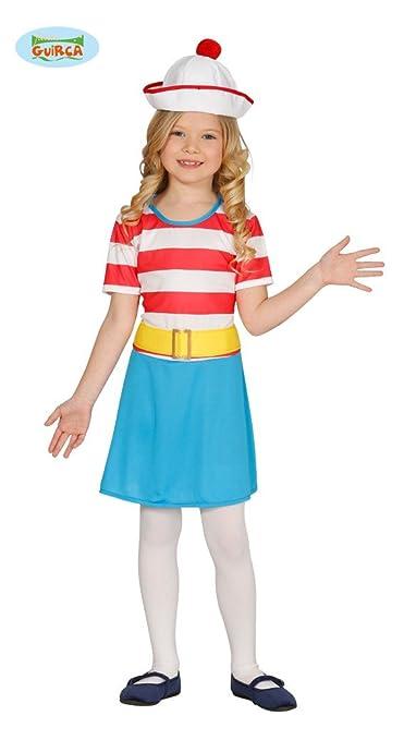 Disfraz de Wally chica infantil 5-6 años: Amazon.es: Juguetes y juegos