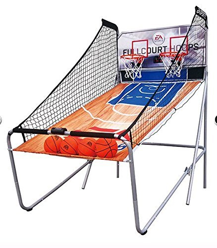 EA-Sports-4-Player-LED-Electronic-Arcade-Size-Fullcourt-Hoops-Basketball-Game