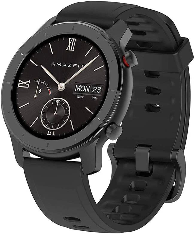 Amazfit GTR A1910 42 - Smartwatch (42 mm), color negro