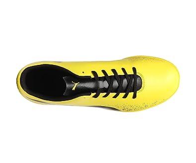 Puma Men s Truora It Blazing Yellow-Puma Black Football Boots - 10 UK India cedd1f1a8