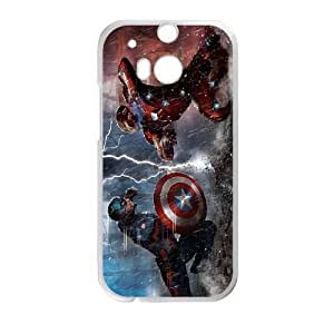 Water Spirit phone Case Captain America Civil War For HTC One M8 QQW832230