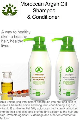 AGRA Cosmetics® Moroccan Argan Oil Shampoo 10.2 Fl.oz & Conditioner 10.2 Fl.oz Duo